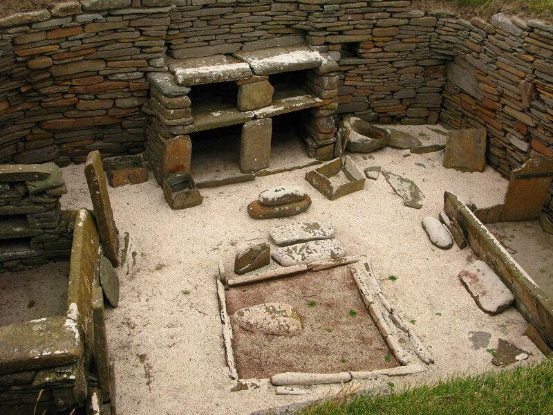 Интерьерный дизайн эпохи неолита
