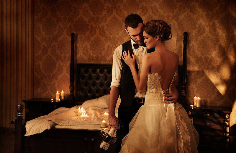 наслаждение для мужчины в брачную ночь