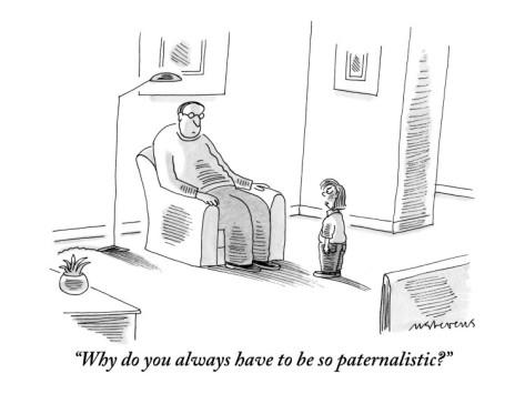 Разговор о патернализме