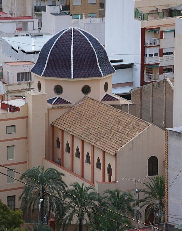 Аликанте. Вид из крепости Сан-Фернандо