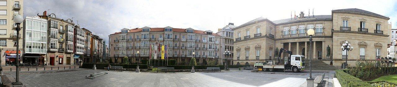 Vitoria-Gasteiz. The provincial square (Plaza de la Provincia)