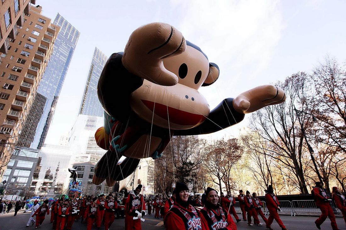 Традиционный Macys Thanksgiving Day Parade