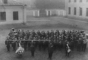 Оркестр полка.