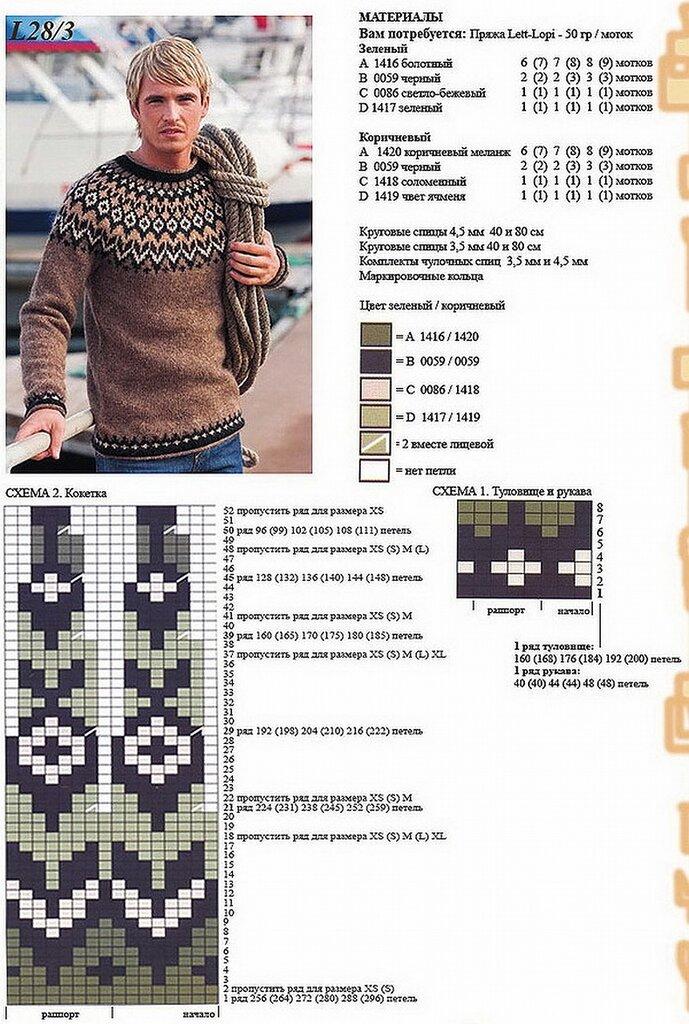 При вязании этого свитера элизабет циммерман рекомендует использовать только горизонтальную плотность, но вы можете рассчитать и вертикальную, она пригодится, если вы хотите рассчитать, например, чтобы ваши жаккардовые узоры в кокетке красиво переходили один в другой.