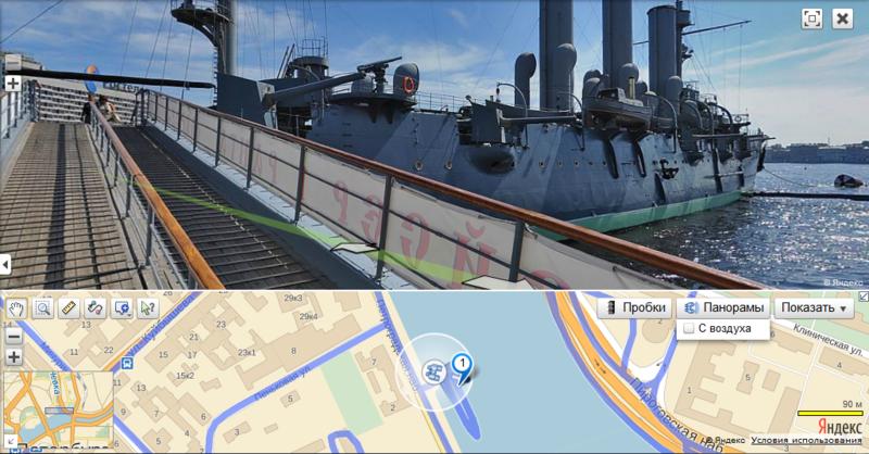 Весеннее обновление на панорамах Яндекс.Карт