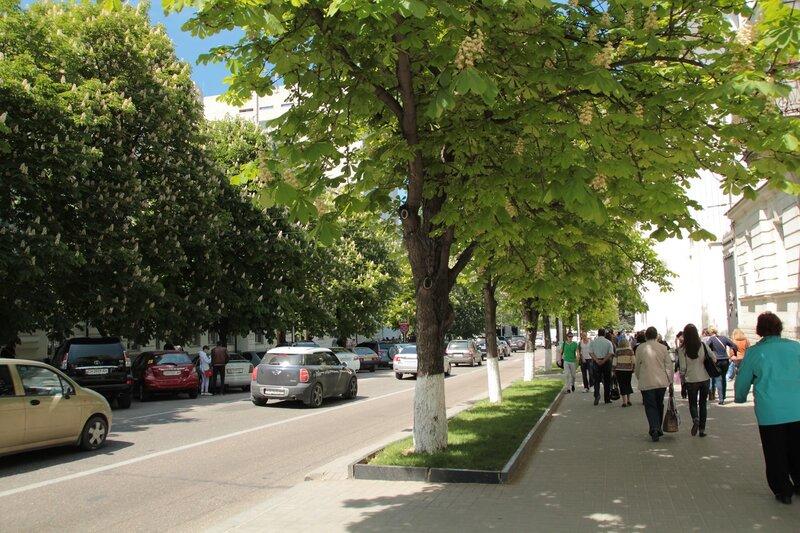 Центральные улицы