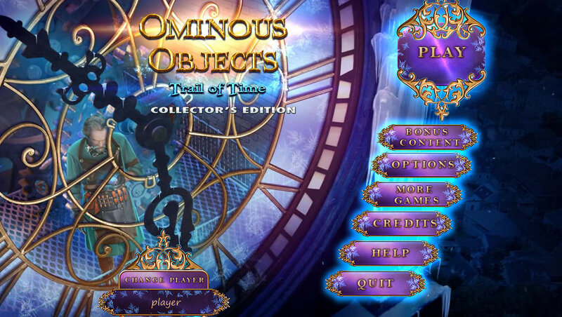 Ominous Objects: Trail of Time CE