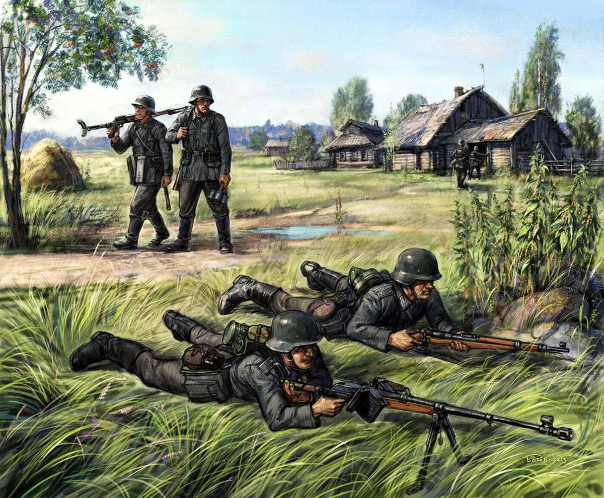 Немецкое противотанковое ружье PzВ-39
