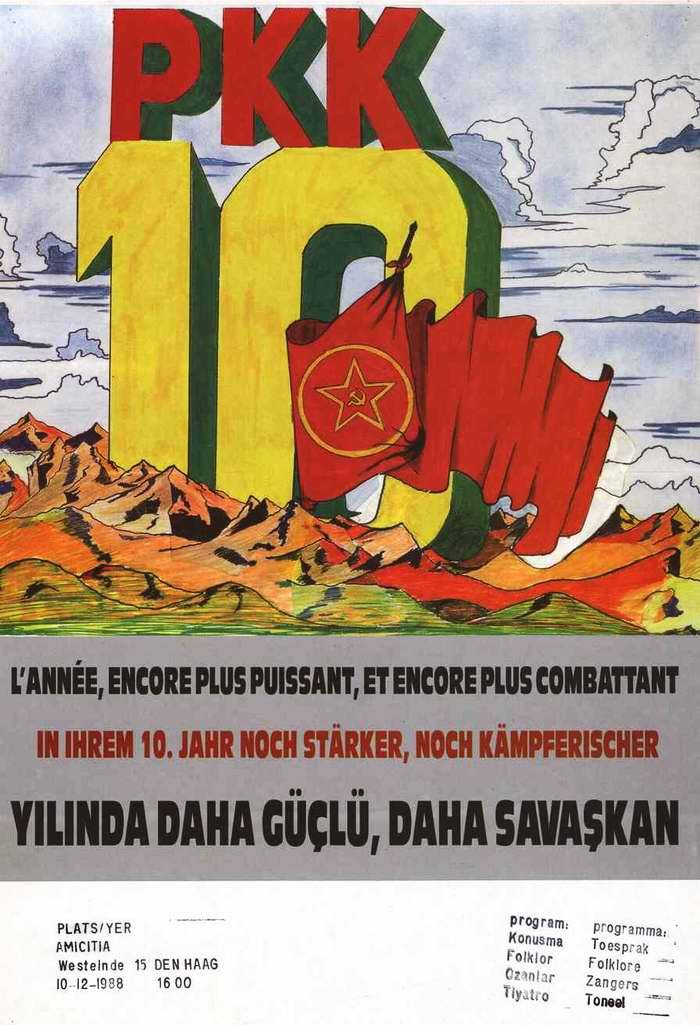 10 лет Рабочей партии Курдистана