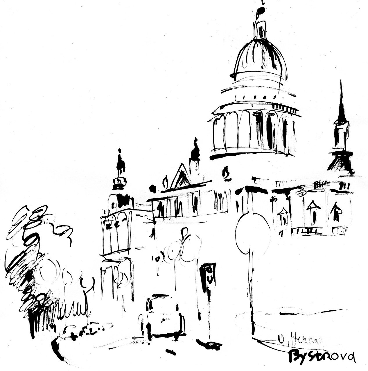 London small drawings