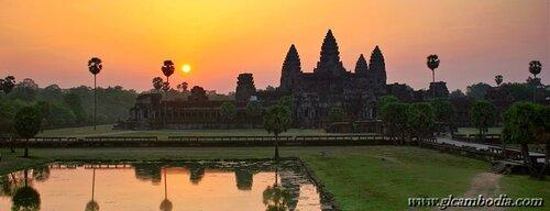 Рассвет в Ангкор Вате, Храмы Камбоджи