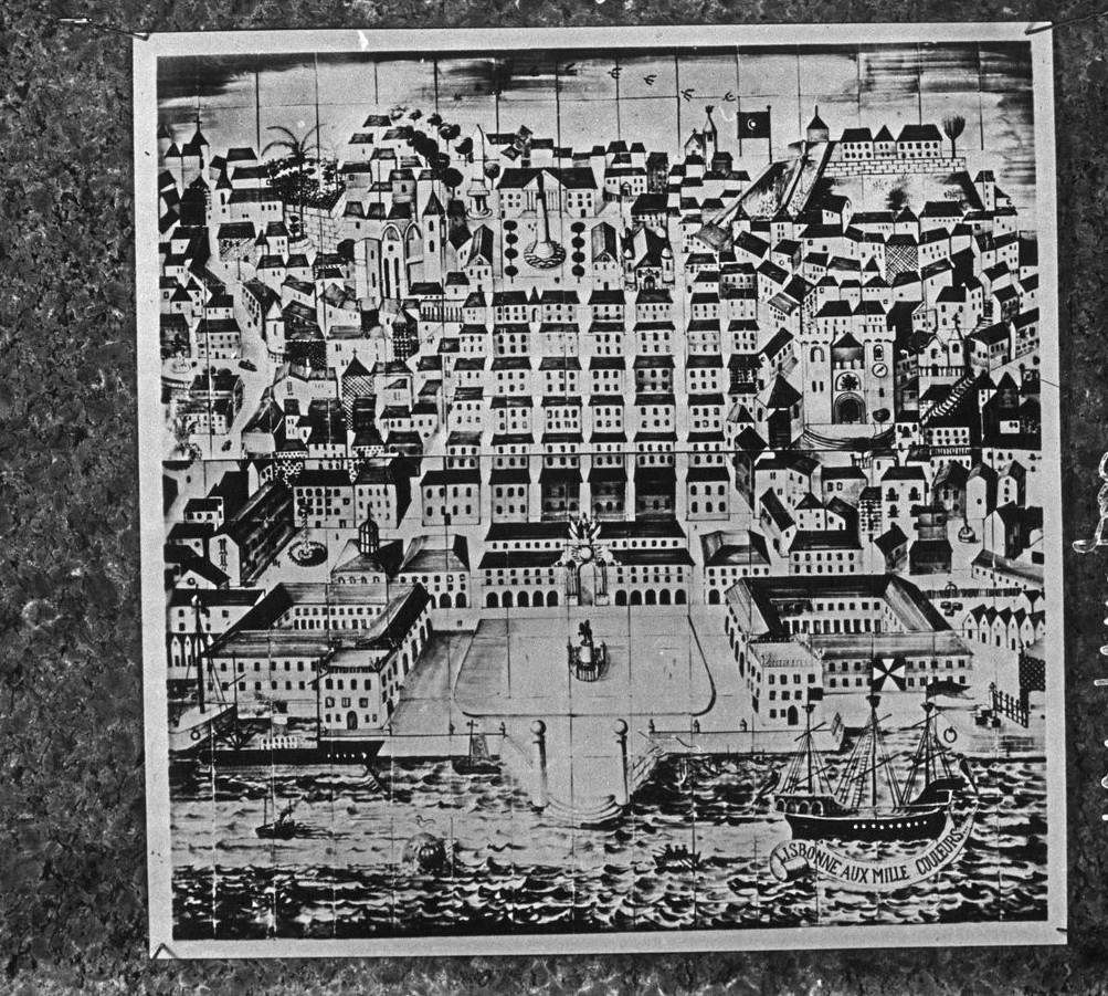 Павильон Португалии. Керамическая облицовочная плитка