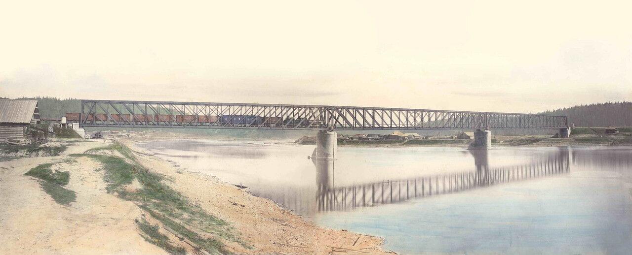 35. Мост через реку Чусовая