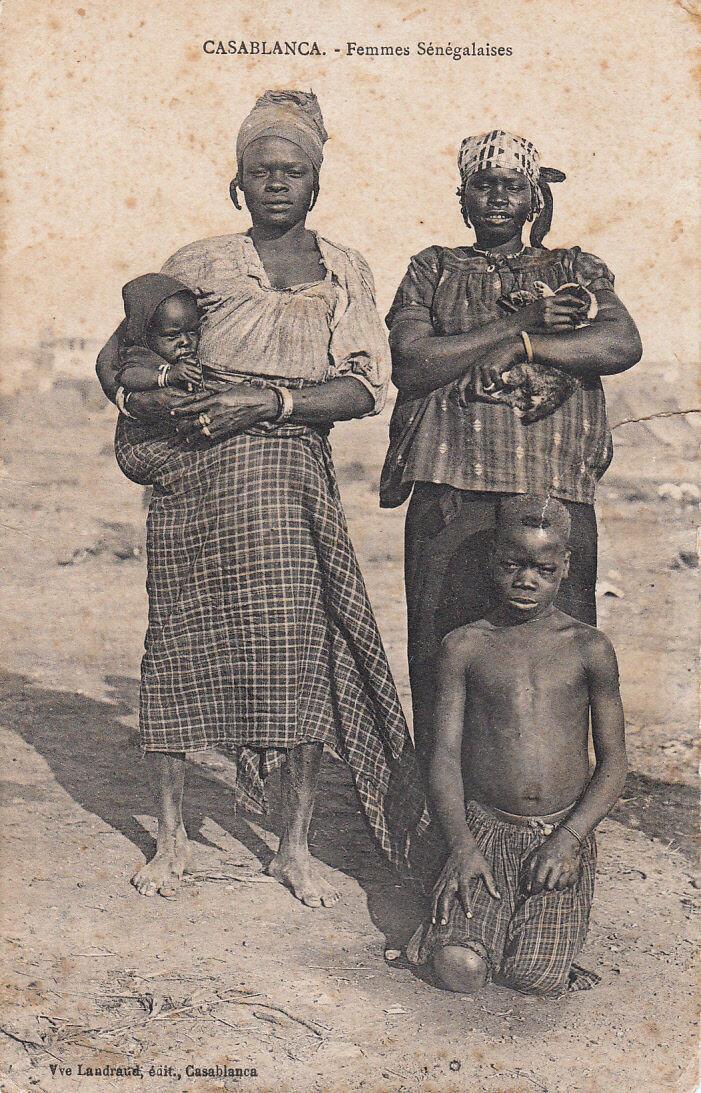 1910-е. Сенегалки из Касабланки