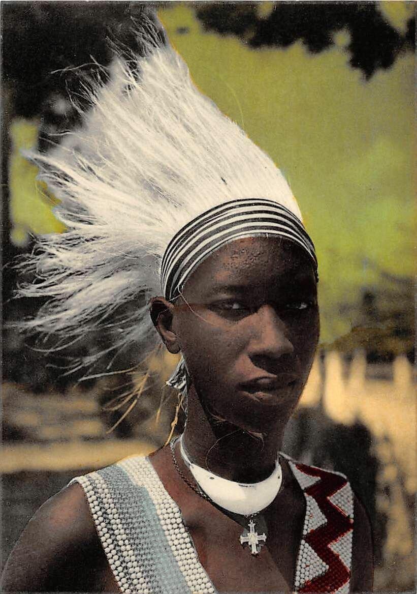 Танцор племени Ватузи из Руанды