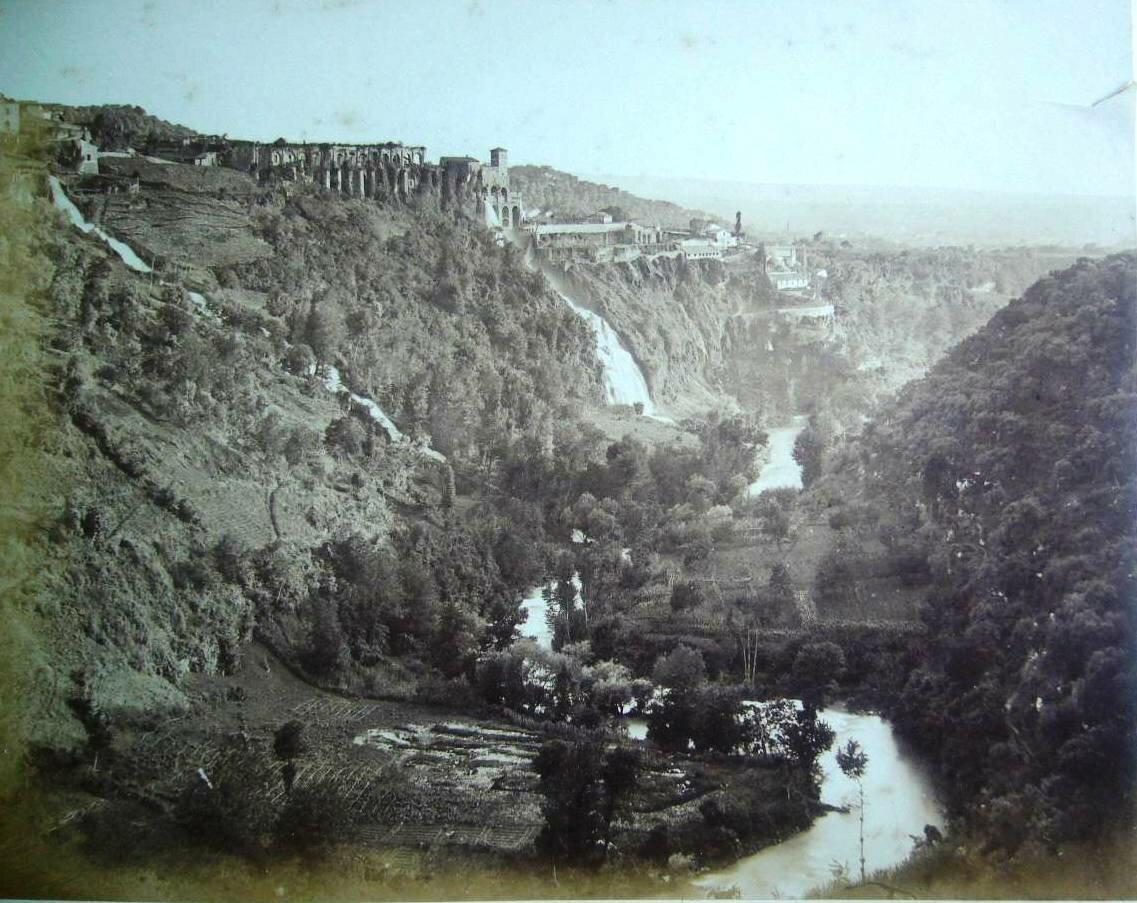Тиволи. Панорама. 1870