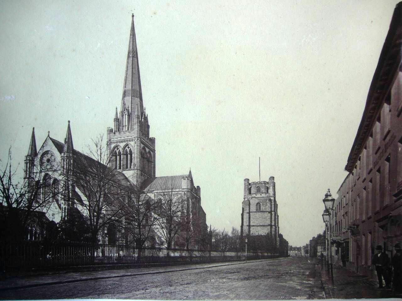 Чичестер. Кафедральный собор. 1870