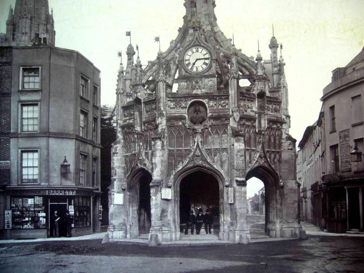 Чичестер. Рыночный крест. 1870
