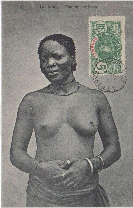 1900. Девушка из Дагомеи