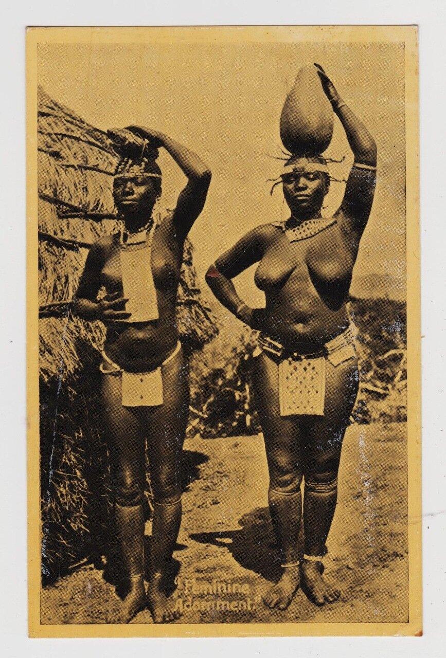 1921. Женщины зулуски