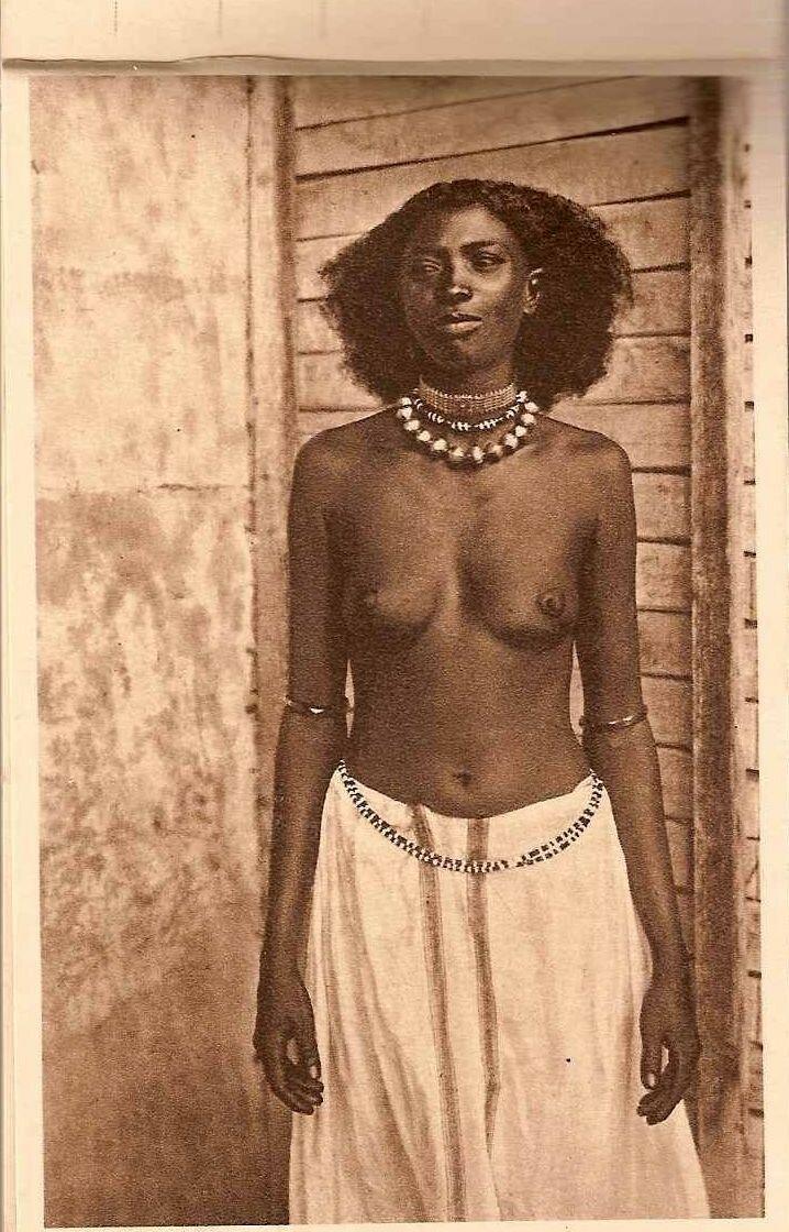 1930. Девушка из Джибути