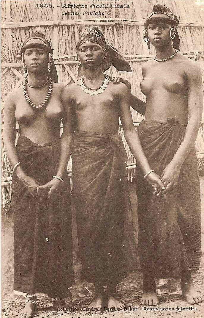 1930. Девушки из Французской Западной Африки