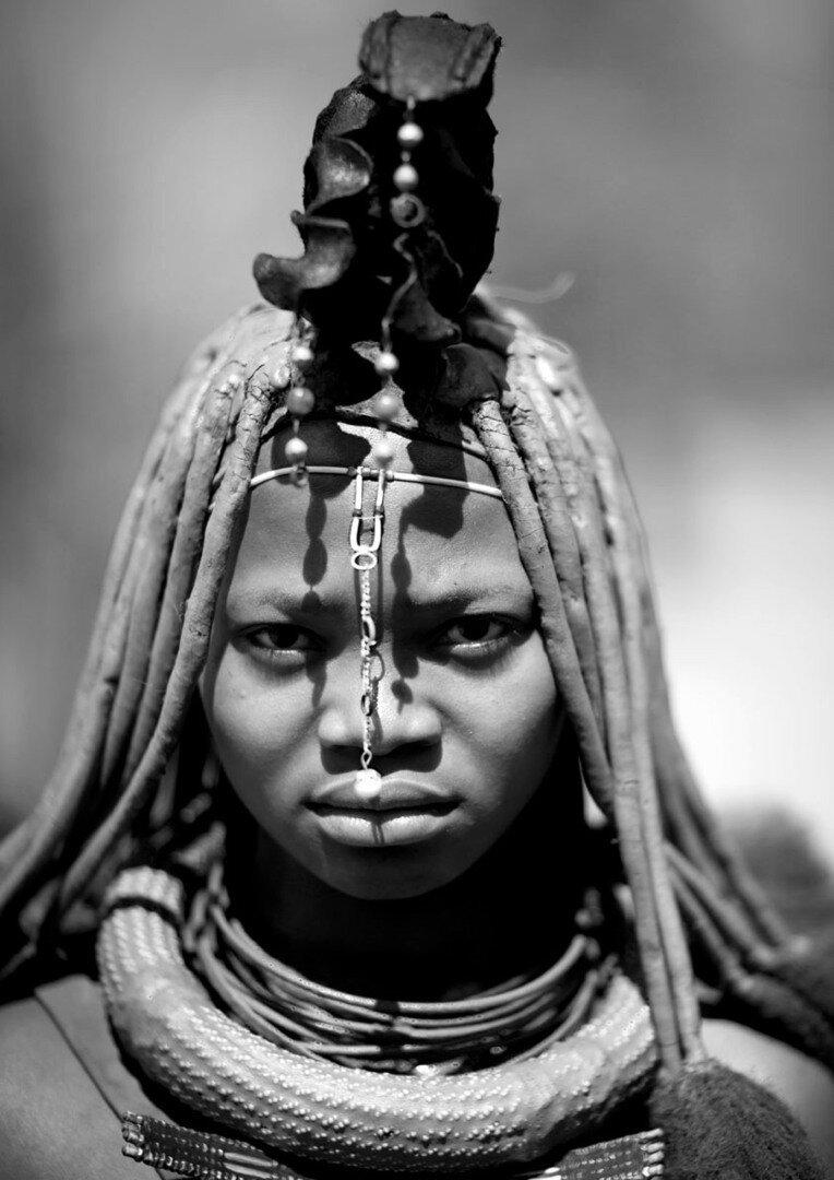 Женщина из племени Банту