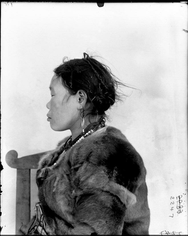 Ламуты. Женщина. 1901