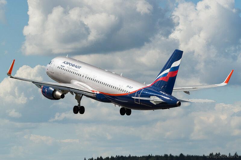 Airbus A320-214 (VP-BJY) Аэрофлот 0595_D803437