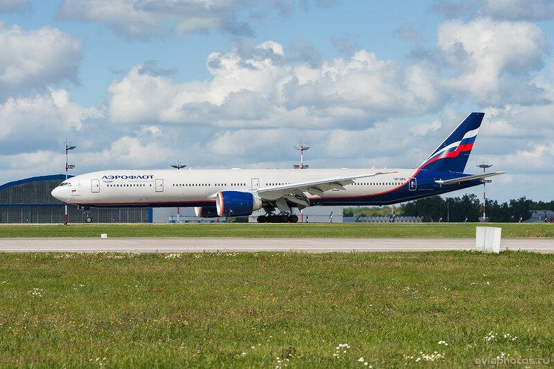 Boeing 777-3M0/ER (VP-BPG) Аэрофлот 0605_D703565