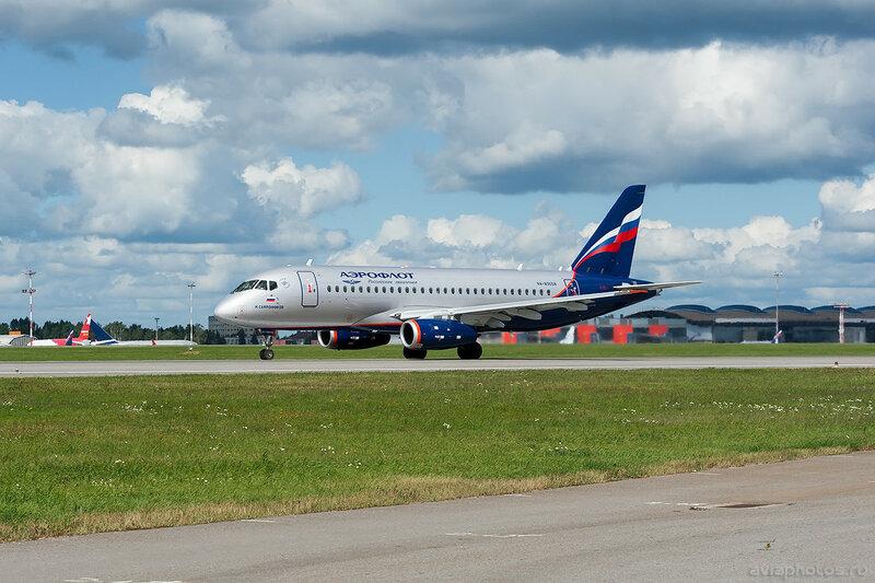 Sukhoi Superjet 100-95B (RA-89058) Аэрофлот 0562_D703558