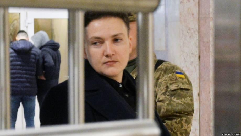 Суд в Киеве избирает меру пресечения для Надежды Савченко (трансляция)