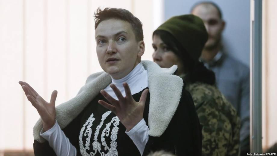В Кремле называют «чушью» версию о вербовке Россией Савченко