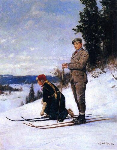 Axel Hjalmar Ender - Cross Country Skiing