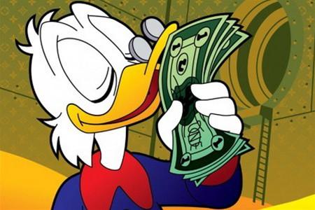 Открытки. День Казначейства. Запах денег