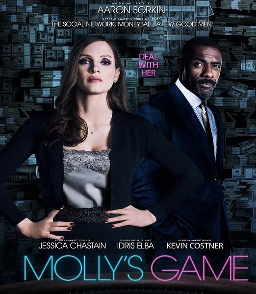 Большая игра / Molly's Game (2017/WEB-DL/WEB-DLRip)