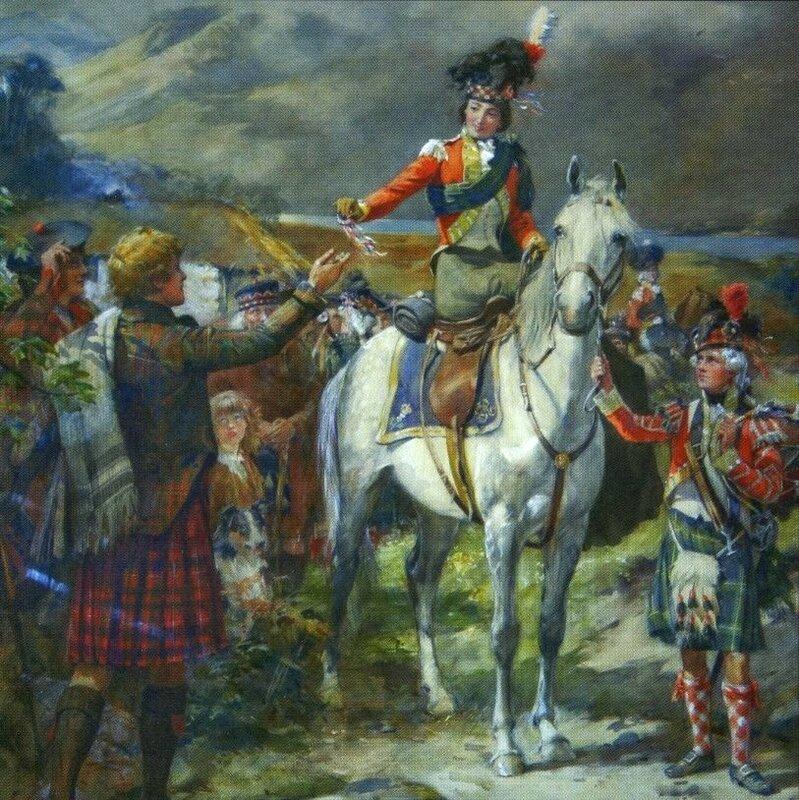 Герцогиня Жанна с рекрутом