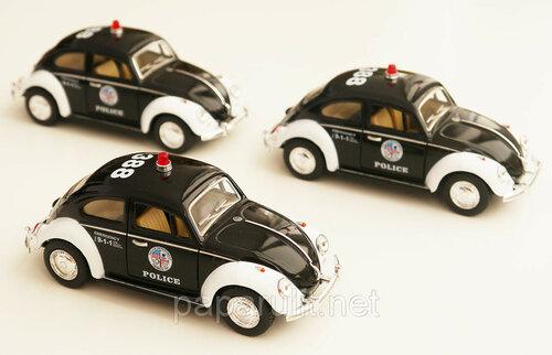 Kinsmart VW Beetle Police