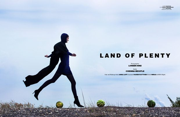 Land of Plenty by Loreen Hinz for Design SCENE Magazine #21 Issue (7 pics)
