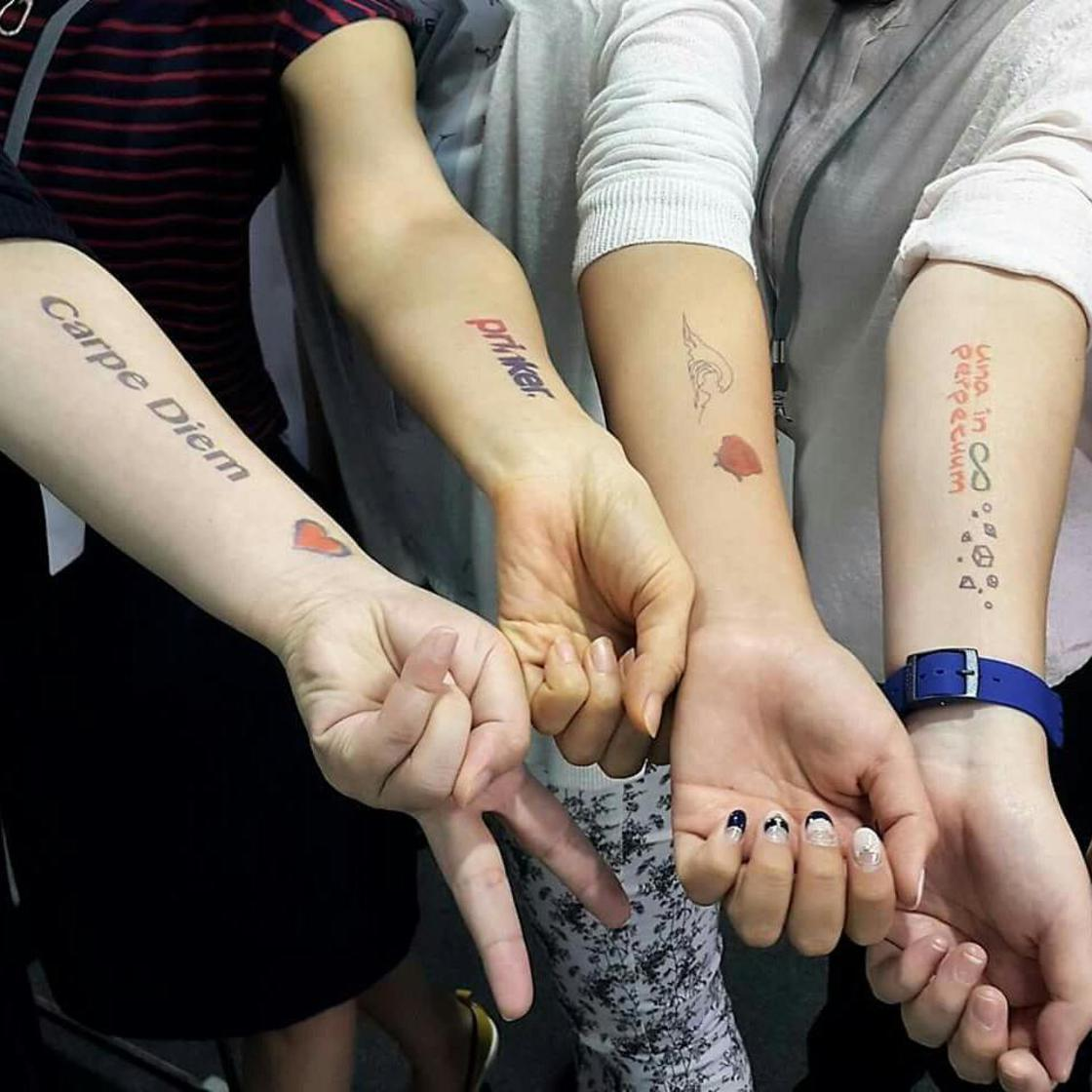 Prinker – Print your ephemeral tattoos directly on your skin!