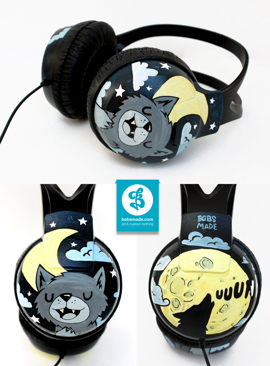 Customized Sneakers, Sunglasses and Headphones by Bobsmade