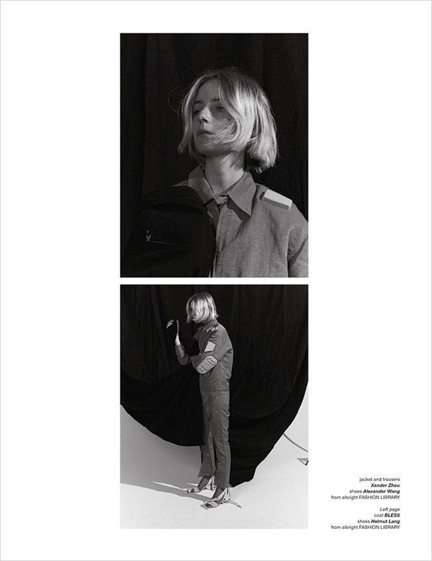 Camille De Terre Stars in the Cover Sover of Zoo Magazine #58 Issue