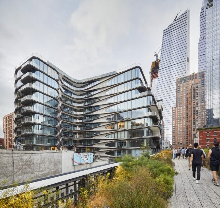 Zaha Hadid's 520 West 28th in New York by Hufton+Crow