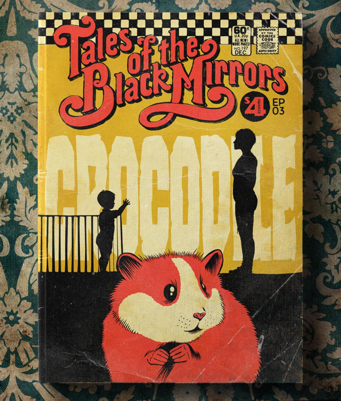 Black Mirror – Les episodes de la saison 4 transformes en comics vintage