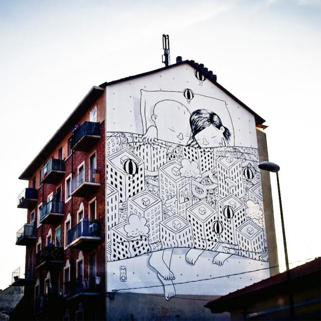 Gigantic Street Mural Paintings (7 pics)