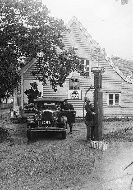 Bilde frå arkivet til fotograf Olai Fauske i Førde, Sunnfjord.