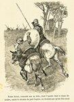 «Don Quixote» 1893 Illustrator Charles  Henri Pille