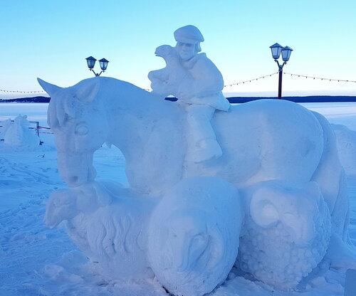 Снежная сказка... Карелия. Петрозаводск