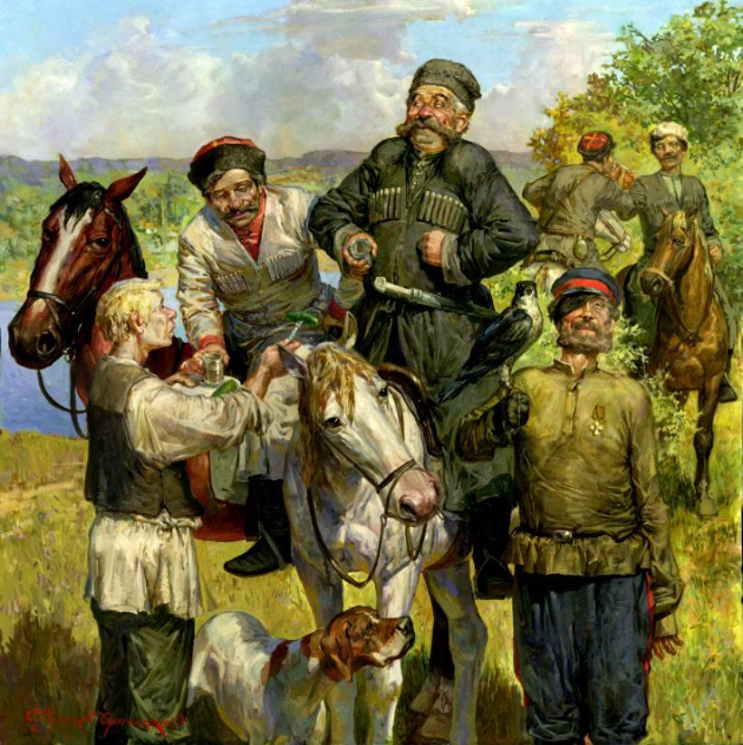 Художник Чумаков-Орлеанский