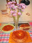 Пироги с капустой и грибами